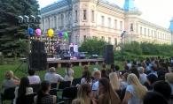 Andrei Glavan si Tania Cerga au creat un moment irepetabil la concertul sustinut in aer liber. Dragostea lor a fost resimtita in fiecare vers - FOTO