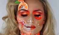 Artista care revolutioneaza lumea makeup-ului! Transforma chipul in adevarate opere de arta, cu produse la indemana oricui - FOTO