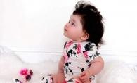Are doar 8 luni, dar a devenit dependenta de coafor! Cine este fetita cu o podoaba capilara de invidiat? FOTO