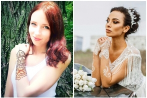 Traditia indiana, un trend sau mini-afacere pentru moldoveni? Mesterul mehendi Ana Frolova iti spune cum sa deosebesti henna naturala de vopsea - VIDEO