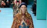 Katea Gramma a defilat in show-ul scandalos, organizat de brandul Gucci: