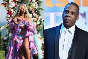 Imagine rara cu gemenii lui Beyonce si ai lui Jay-Z. Diva a facut publica prima fotografie cu Sir si Rumi - FOTO