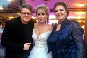 """Fiica Irinei Loghin a spus """"Da"""" intr-o rochie de milioane. Vezi primele imagini de la nunta- FOTO"""