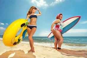 Sculpteaza-ti corpul in vacanta! Vezi cum poti face sport pe plaja