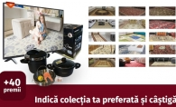 Concurs: Indica colectia ta preferata de la Floare-Carpet si castiga zeci de premii gratuit si un cupon de 15% reducere - FOTO