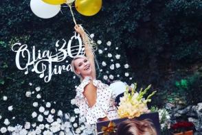 O zi de nastere ca o nunta! Vezi cum s-a distrat toata spuma showbizului autohton la aniversarea Oliei Tira - VIDEO