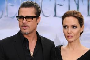 Angelina Jolie, din nou in razboi cu Brad Pitt. Vezi ce a facut actorul? - FOTO
