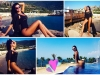 Chica Bomb a lui Dan Balan si-a etalat formele voluptoase pe o plaja din Turcia. Vezi imagini fierbinti din vacanta exotica a Laurei Vetty - VIDEO