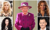 Cher, Madonna, Beyonce si Johnny Depp au legaturi nebanuite cu Regina Elisabeta. Artistii sunt rude cu membrii familiei regale - FOTO