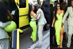 Extravaganta sau lipsa de gust? Kanye West a purtat cea mai neobisnuita incaltaminte pentru o nunta - VIDEO