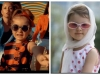 Ea e noua Cleopatra Stratan! Micuta Sophia Dinu, de doar 4 ani, apare cu ochelari de soare retro si rochita in buline, la fel ca si Cleo - VIDEO
