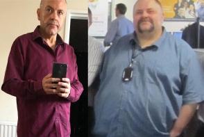 Acest barbat a slabit 127 kilograme in doi ani. Cea mai simpla metoda - FOTO