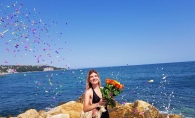 Mariana Mihaila si-a sarbatorit ziua de nastere pe malul marii: