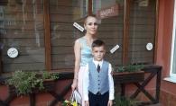 Baietelul fashion stilistei Xenia Bugneac merge astazi in clasa I: