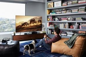 Samsung QLED TV 2018. Iata cum un televizor inteligent iti poate transforma casa intr-o galerie de arta - FOTO