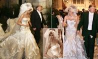 Nunta Melaniei si a lui Donald Trump a costat 1 milion de dolari. Iata cum a aratat rochia de mireasa, in valoare de 80.000 de dolari - FOTO
