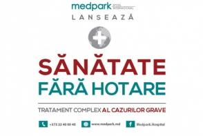"""Programul """"Sanatate fara hotare"""": Medpark ofera servicii complexe pentru tratarea pacientilor cu diagnostice complicate - FOTO"""