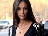 Madalina Ghenea, aparitie senzuala la Saptamana Modei de la Milano. Modelul a imbracat o rochie foarte deosebita - FOTO