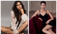 Una mai sexy ca alta! Irina Shayk si Bella Hadid, in rochii similare. Cui ii sta mai bine? FOTO
