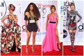 Au stralucit pe covorul rosu la American Music Awards 2018! Iata ce tinute spectaculoase au purtat celebritatile - FOTO