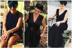 """Patrizia Paglieri: """"De 25 de ani imi cumpar doar haine negre."""" Afla care e motivul - FOTO"""