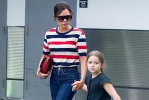 Victoria Beckham nu isi lasa fiica sa ii poarte creatiile: