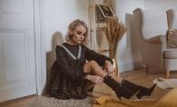 Valeria Cantir a reinventat stilul vintage si a lansat ultima colectie de haine.