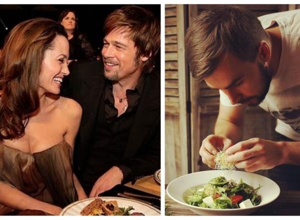 "Bucatarul Iurie Parcalab a gatit pentru Angelina Jolie si Brad Pitt: ""Au venit separat, deja dupa ce au divortat.""- VIDEO"