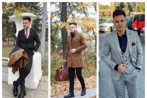Reinnoieste garderoba de toamna a iubitului tau cu haine unicat! Stilistul Dan Ionita: