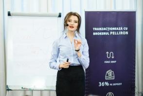 Fii la inaltime! Pelliron si Double Case invata femeile cum sa obtina profituri garantate din tranzactionare