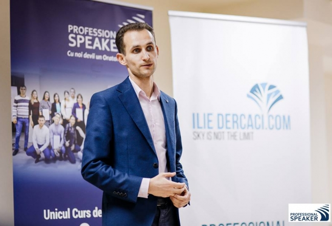 "Trainerul Ilie Dercaci: ""Dezvoltarea personala este la fel de necesara in scoli ca matematica sau istoria."""