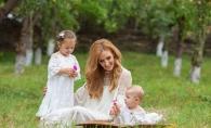 Copiii Tatianei Heghea, protagonistii noului videoclip al interpretei! Cum s-au comportat micutii la filmari? VIDEO