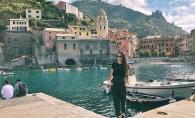 A vizitat 5 tari intr-o singura zi. Vezi cum travel-bloggerita, Diana Mocanu, ia Europa la galop - VIDEO
