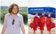 Stewardesele Air Moldova, superbe in noile uniforme! Designerul Evgheni Hudorojcov: