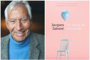 """""""In paginile acestei carti veti gasi miracole."""" Celebrul psihosociolog francez, Jaque Salome, a lansat la Chisinau noul sau volum """"Un strop de eternitate"""" - VIDEO"""