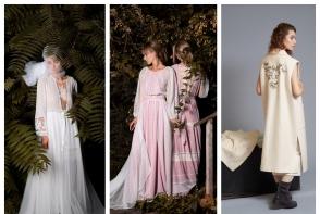 Rochiile pastelate si cu motive traditionale, preferatele designerilor autohtoni. Vezi cum arata un showroom din capitala cu astfel de creatii - VIDEO