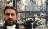 Gerard Butler si-a pierdut casa in incendiul devastator din California. Totul este scrum - FOTO