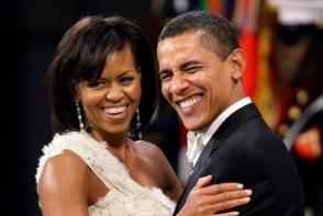 Barack Obama, surpriza in public pentru sotia sa. Ce gest induiosator a facut? FOTO