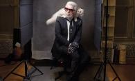 Ce a fost, nu mai este! Cum a ajuns sa arate celebrul Karl Lagerfeld la varsta de 85 de ani? FOTO