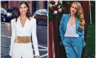 Un ingeras Victoria's Secret, intr-o tinuta inedita, semnata de un designer autohton! Cui ii sta mai bine, Karizmei sau modelului Sara Sampaio? FOTO