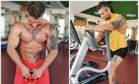 Victor Dubov este antrenorul de fitness care vrea sa-si tatueze jumatate de corp! Afla care e motivul - VIDEO