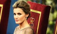 Regina Letizia, intr-o tinuta spectaculoasa! Vezi ce accesoriu pretios a purtat - FOTO