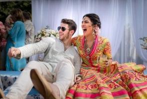Imagini spectaculoase de la nunta actritei Priyanka Chopra. Peste jumatate de milion de dolari au costat cele trei zile de petrecere - FOTO