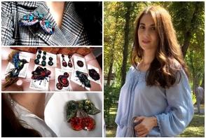 De la design interior a trecut la confectionarea broselor! Maria Balan a povestit cum si-a transformat pasiunea in afacere - VIDEO