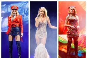 In timpul concertului, Natalia Gordienko a schimbat 5 tinute diferite, insa extrem de sofisticate! Vezi imaginile spectaculoase de la show - GALERIE FOTO