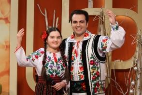 """Fiica lui Igor Cuciuc este deja o artista desavarsita. """"Imi place mai mult sa cant singura, decat cu tata. Eu sunt stapana si nu trebuie tata sa comenteze."""" - VIDEO"""