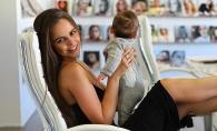 Xenia Deli e fascinata de micuta ei! Vezi cat de mare a crescut Anastasia - VIDEO