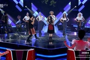 Moment exceptional care a ridicat sala in picioare! Zdob si Zdub a cantat alaturi de concurenta Irinei Rimes in finala Vocea Romaniei - VIDEO