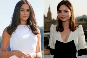 Meghan Markle si fosta iubita a Printului Harry, in acelasi model de rochie! Cine a aratat mai bine? FOTO