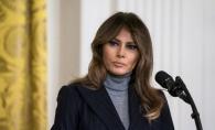 Melania Trump, schimbare neasteptata de look! Prima Doamna a Statelor Unite s-a facut blonda - FOTO
